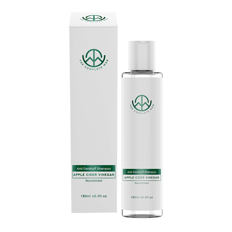The Complete Man Dandruff Shampoo- With Apple Cider Vinegar-Zinc Pyrithione