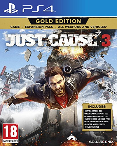 Price comparison product image Just Cause 3 Gold Edition (PS4) (UK IMPORT)