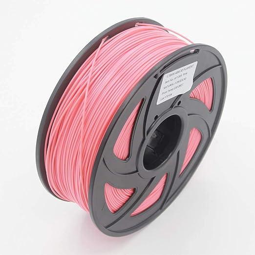 WSHZ Filamento de Impresora 3D PLA Rosa, precisión Dimensional +/- ...