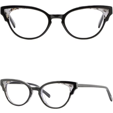 91322c6b41 Image Unavailable. Image not available for. Color  Women s Acetate Plastic  Frames Cat-eye Prescription Glasses Red Spring Hinges