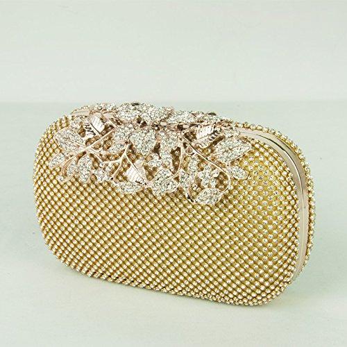 sac dîner dame FYios sac à sac femme mariée petit Soirée Golden sac main à sac dîner diamant main sac sac fzBpSxqaB