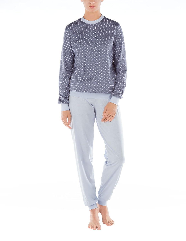 17ee488efd Calida Damen Zweiteiliger Schlafanzug Torino Pyjama Bündchen bestellen