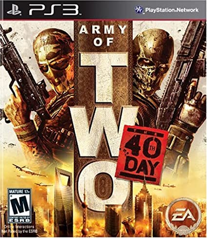 Army of Two: The 40th Day (PS3) PlayStation 3 Games at amazon