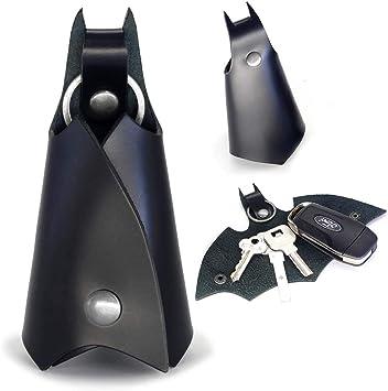 KeyChain Leather Batman Car key fob case