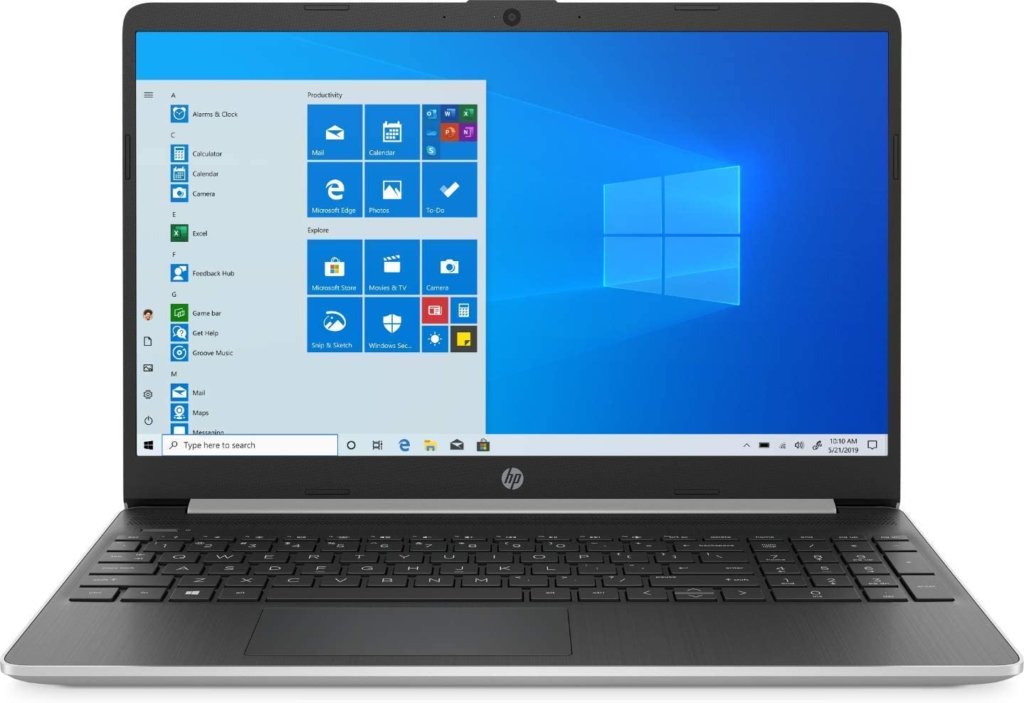 "Newest HP 15.6"" HD Touchscreen Premium Business Laptop 