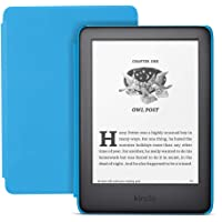 $109 » All-new Kindle Kids Edition - Includes access to thousands of books - Blue Cover