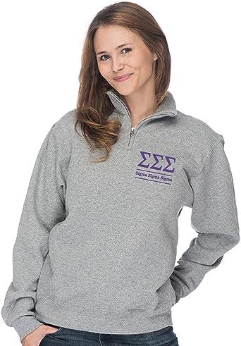Sigma Sigma Sigma Script Box Crewneck Sweatshirt