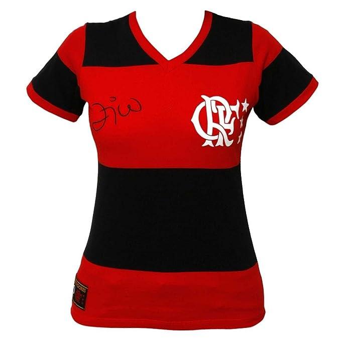 581c57b2cfc Women s Flamengo Replica Jersey 1981 Zico - Brazilian Soccer  Amazon.ca   Clothing   Accessories