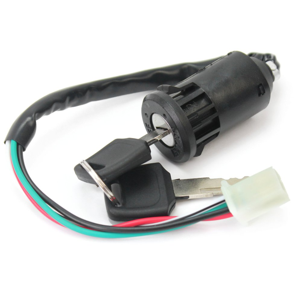 universal ignition switch 4 wire 2 keys on off great for ignition switch lock keys for yamaha suzuki honda ktm dirt bike atv scooter