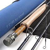 "Maxcatch Nano Series Fly Fishing Rod, Nano Technology Construction (Nano Series, 4wt 9'0"" 4pc) For Sale"