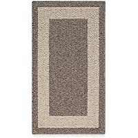 Classic Border 1-Foot 8-Inch x 2-Foot 10-Inch Accent Rug in Mushroom (100% Polypropylene)
