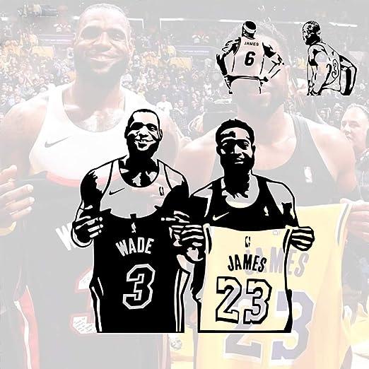 Ajcwhml Baloncesto clásico Wade y Lebron James retiraron Las ...