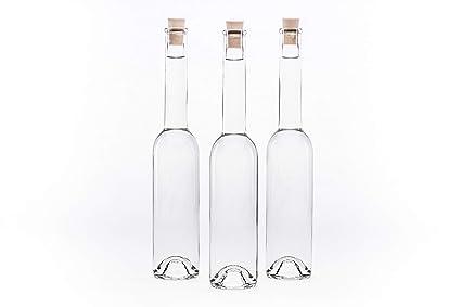 slkfactory 20 Botellas vacías 100 ML OPI de SPI pequeñas Botellas con Cierre Tapa Tapón 0