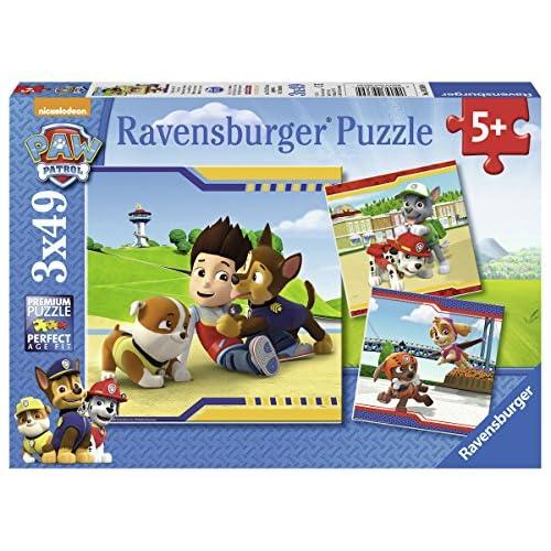 Ravensburger 9369 - Lot de 3 Puzzles - Pat Patrouille - 49 Pièces