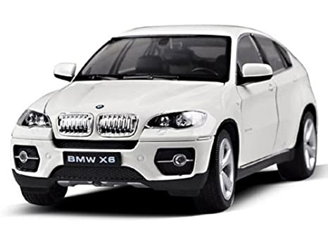 Amazon Com Bmw X6 1 24 Diecast Model Car White Toys Games
