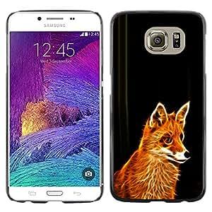 Stuss Case / Funda Carcasa protectora - Fox Red Ginger Fur Animal Forest Cunning Fairytale - Samsung Galaxy S6 SM-G920
