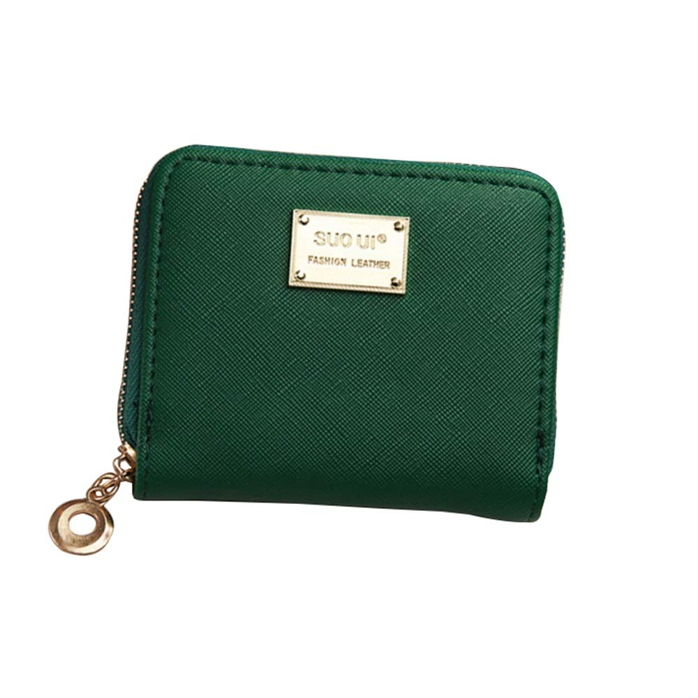 Douhuayu Female bag wallet female short paragraph simple new zipper wallet female student fashion coin purse coin bag