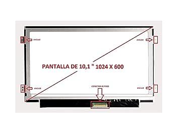 """Pantalla Compatible de y para portatil Acer Aspire One D255 10,1"""" WSVGA 1024X600"""