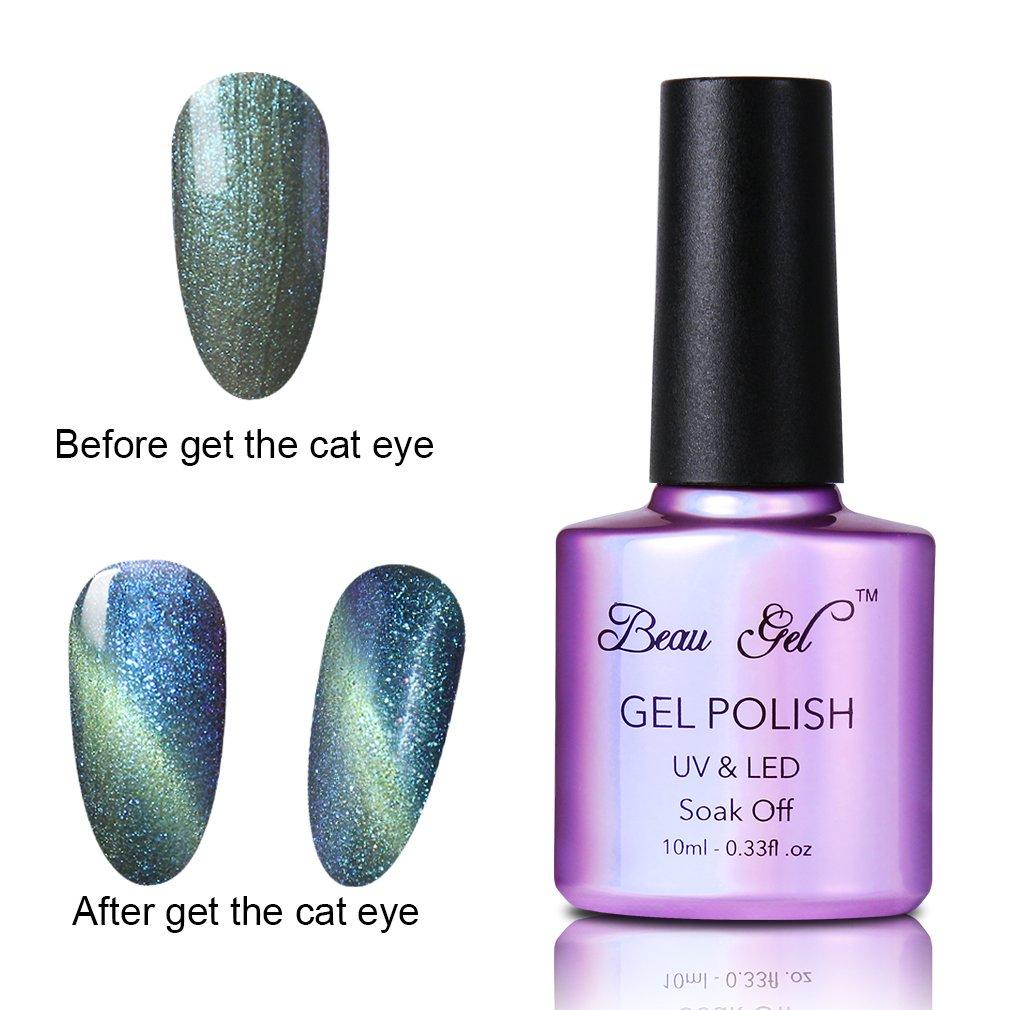 Beau Gel Magic Magnet Stick for 3D Magnetic Cat Eye Nail Tips Nail Gel Polish DIY Nail Art Tool RYC