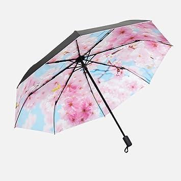 GYB paraguas Paraguas Umbrella Umbrella Protección Umbrella Umbrella plegable Umbrella Doble uso