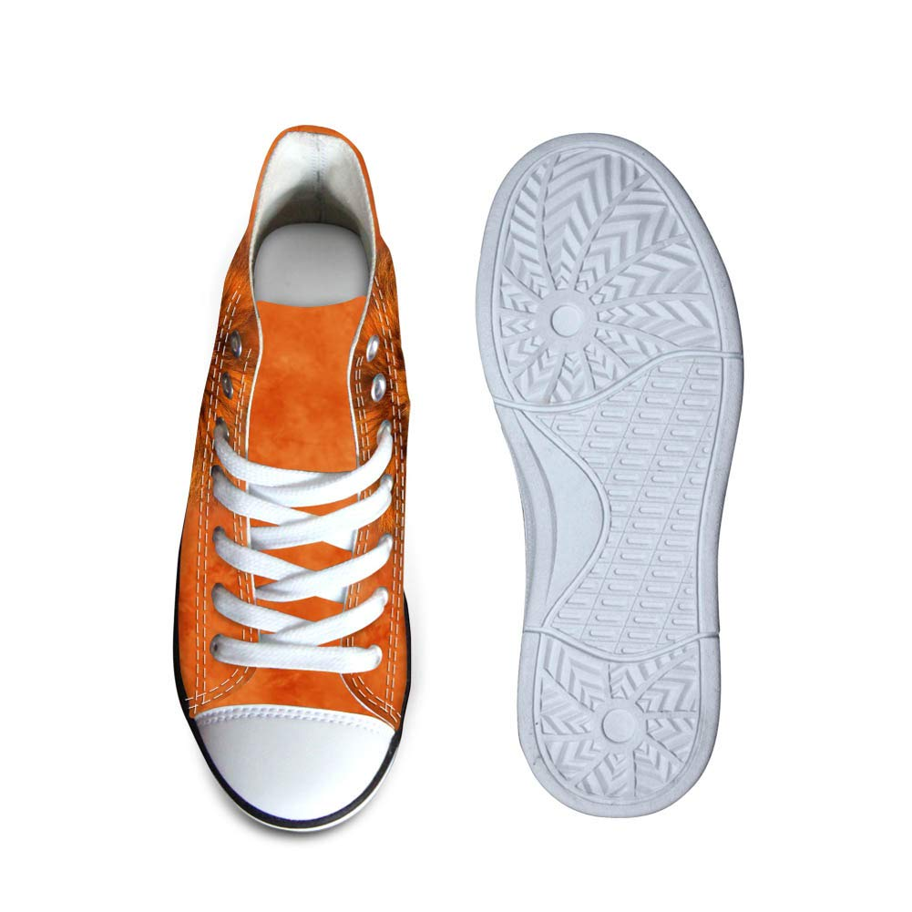 FOR U DESIGNS Classic Canvas High Top Shoes for Kids Boys Girls Comfortable Sneakers Animal Printed Flat Shoe