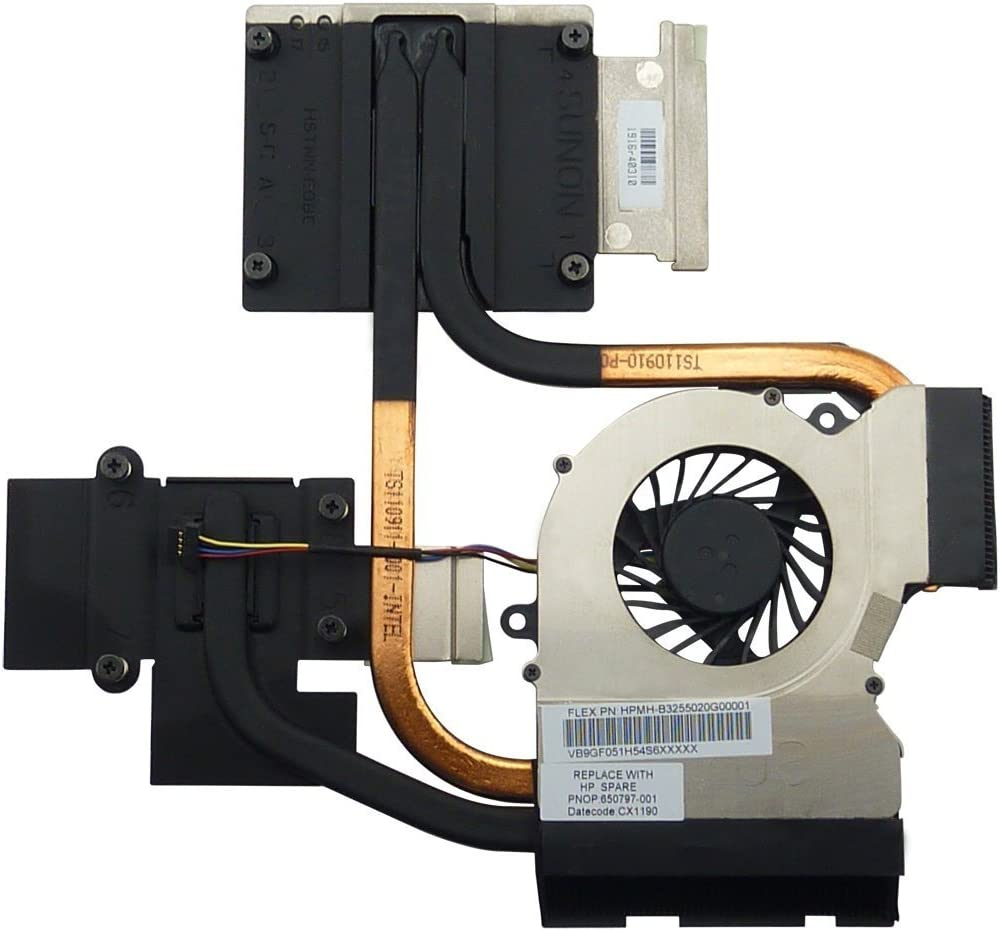 Note:only fit Intel Processor Independent Graphics New CPU Cooling Fan with Heatsink for HP Pavilion dv6-6b19wm dv6-6b21he dv6-6b22he dv6-6b26us dv6-6b27nr dv6-6b47dx dv6-6b48nr