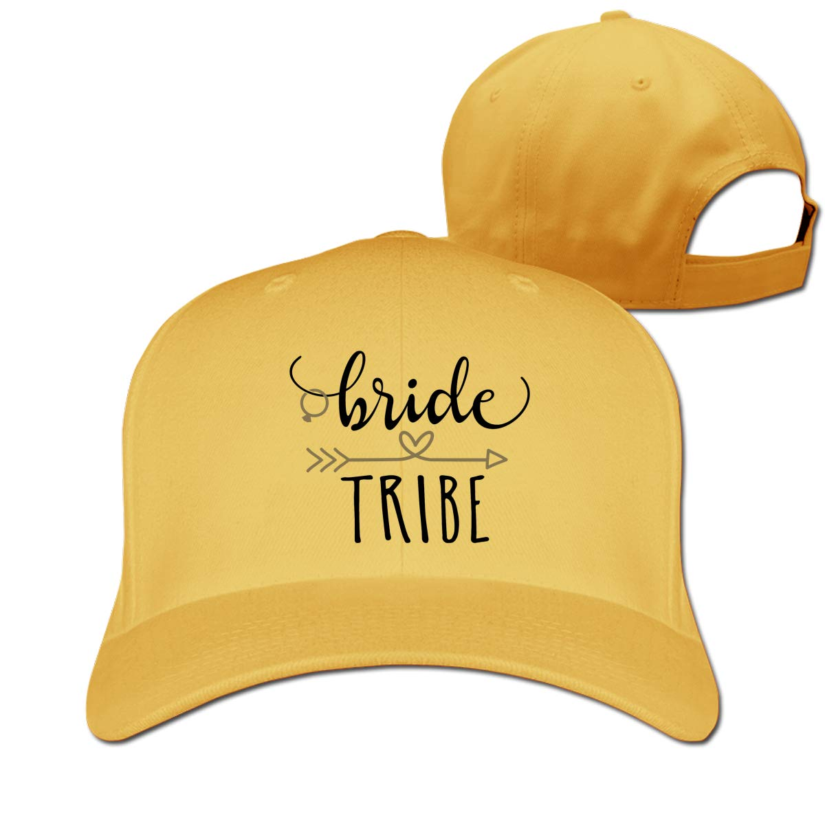Bride Tribe Top Denim Polo Style Adjustable Cap Jessica Casual Baseball Hat Sun Protection Curve Brim