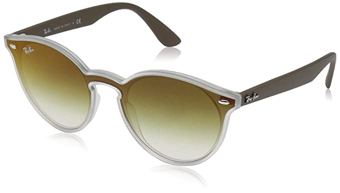 9e731554f9 Amazon.com  Ray-Ban 0rb4380n Non-Polarized Iridium Round Sunglasses ...