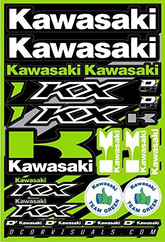 - D'cor Visuals 40-20-100 Kawasaki Decal Sheet