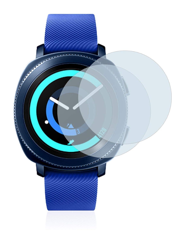 brotect Protector Pantalla Compatible con Samsung Gear Sport Protector Transparente (2 Unidades) Anti-Huellas