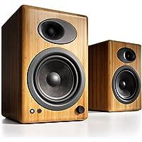 Audioengine 5+ Powered Bookshelf Speakers - Hi-Gloss White