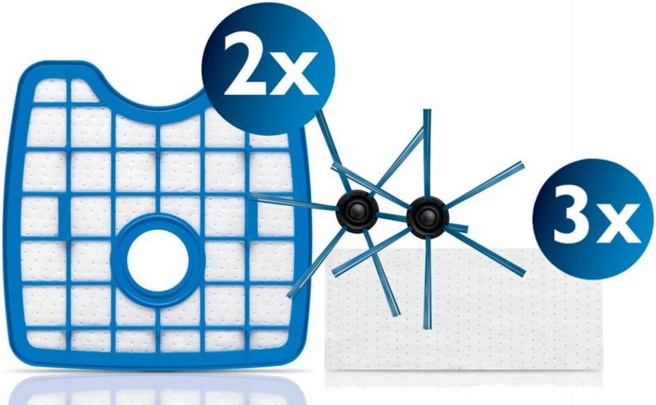 Philips Robot aspirador FC8068/01, Polyester, Azul, Blanco: Amazon ...
