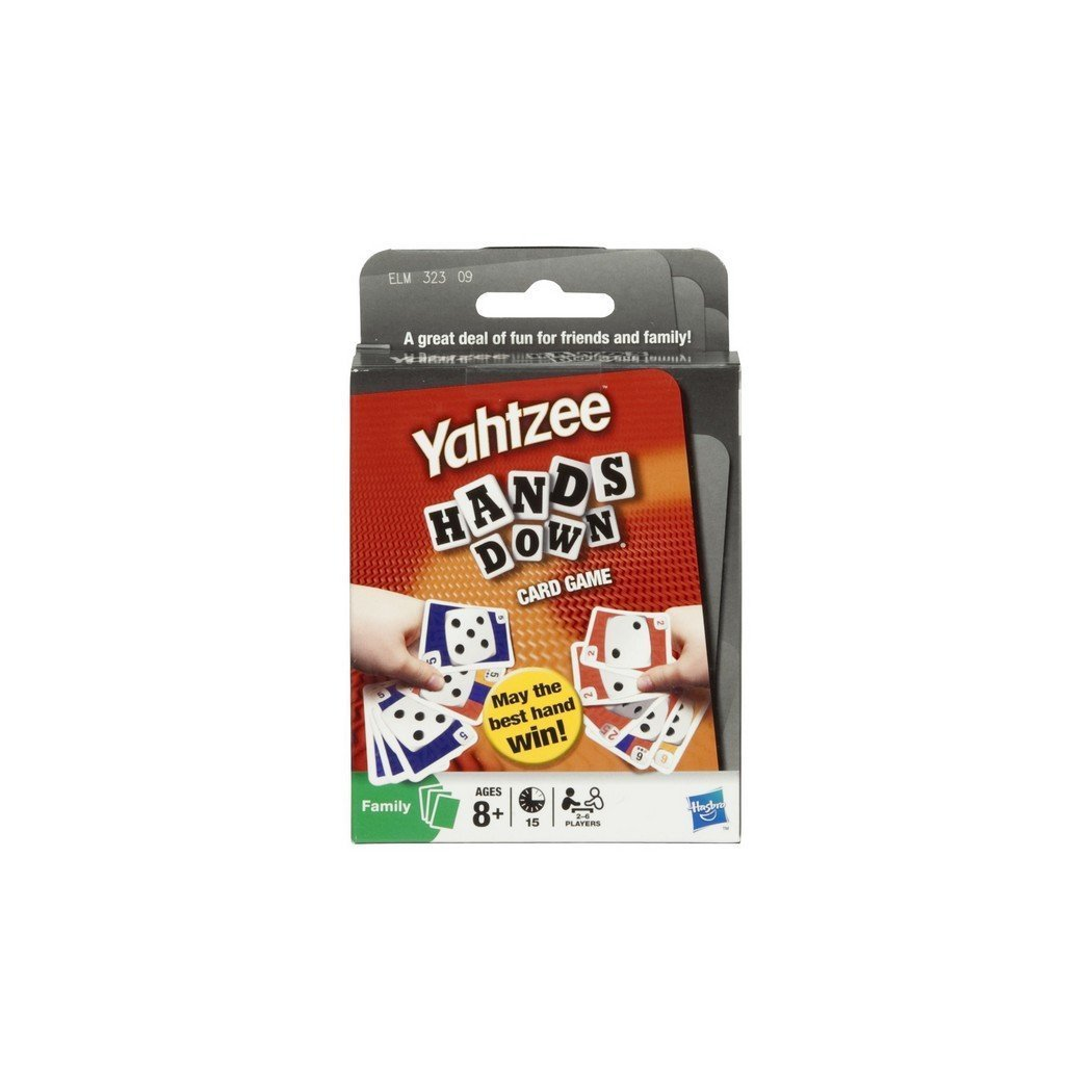 Amazon yahtzee hands down card game toys games reheart Image collections