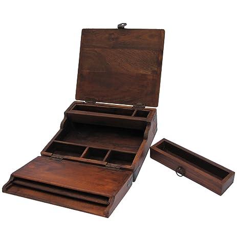 Antique Style Writing Lap Desk - Amazon.com: Antique Style Writing Lap Desk: Kitchen & Dining