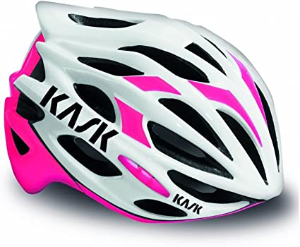 New KASK Mojito Road Bike Bicycle Cycling Riding Helmet White // Pink