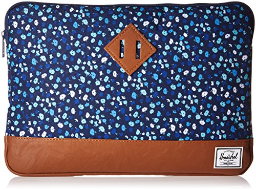 Wallet Mini Leather Supply Heritage 13 Synthetic Peacoat Sleeve mens Herschel Co Floral Tan Yx7qCwY48