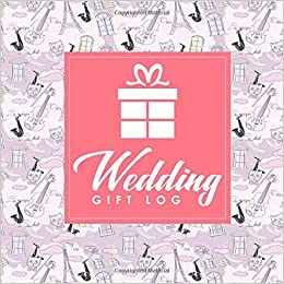wedding gift log wedding gift record book gift record book gift