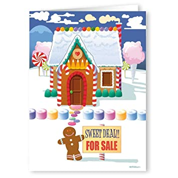 Amazon sweet deal real estate holiday card funny realty real estate holiday card funny realty christmas card 18 cards m4hsunfo