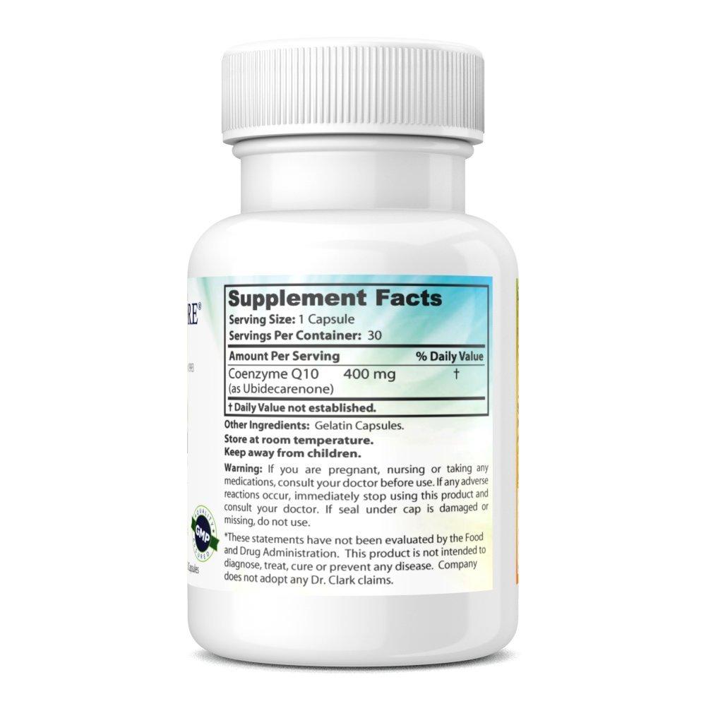 Coenzyme Q-10, 400mg, 30 capsules