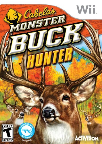 Cabela's Monster Buck Hunter - Software Only - Nintendo Wii (Rapala Trophies)