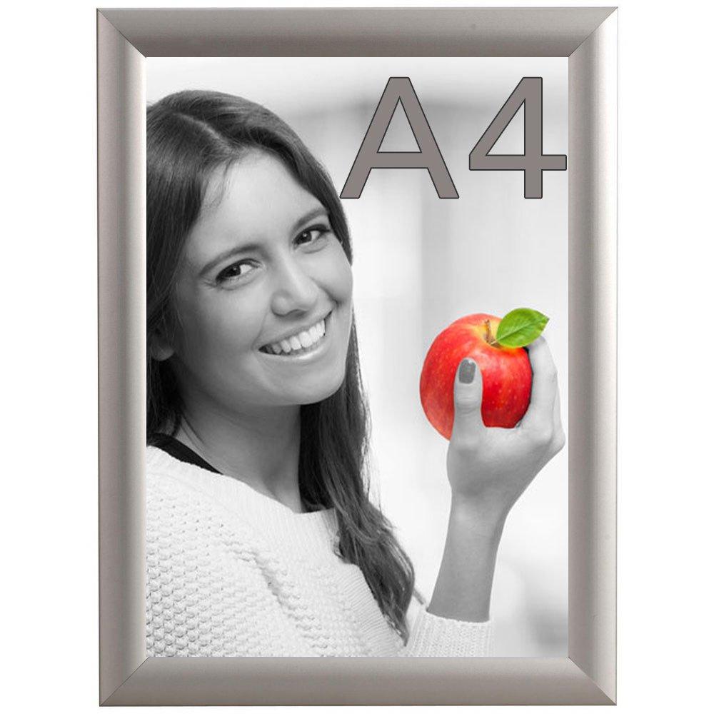 DIN A4 Alu Klapprahmen Wechselrahmen Bilderrahmen Plakatrahmen ...