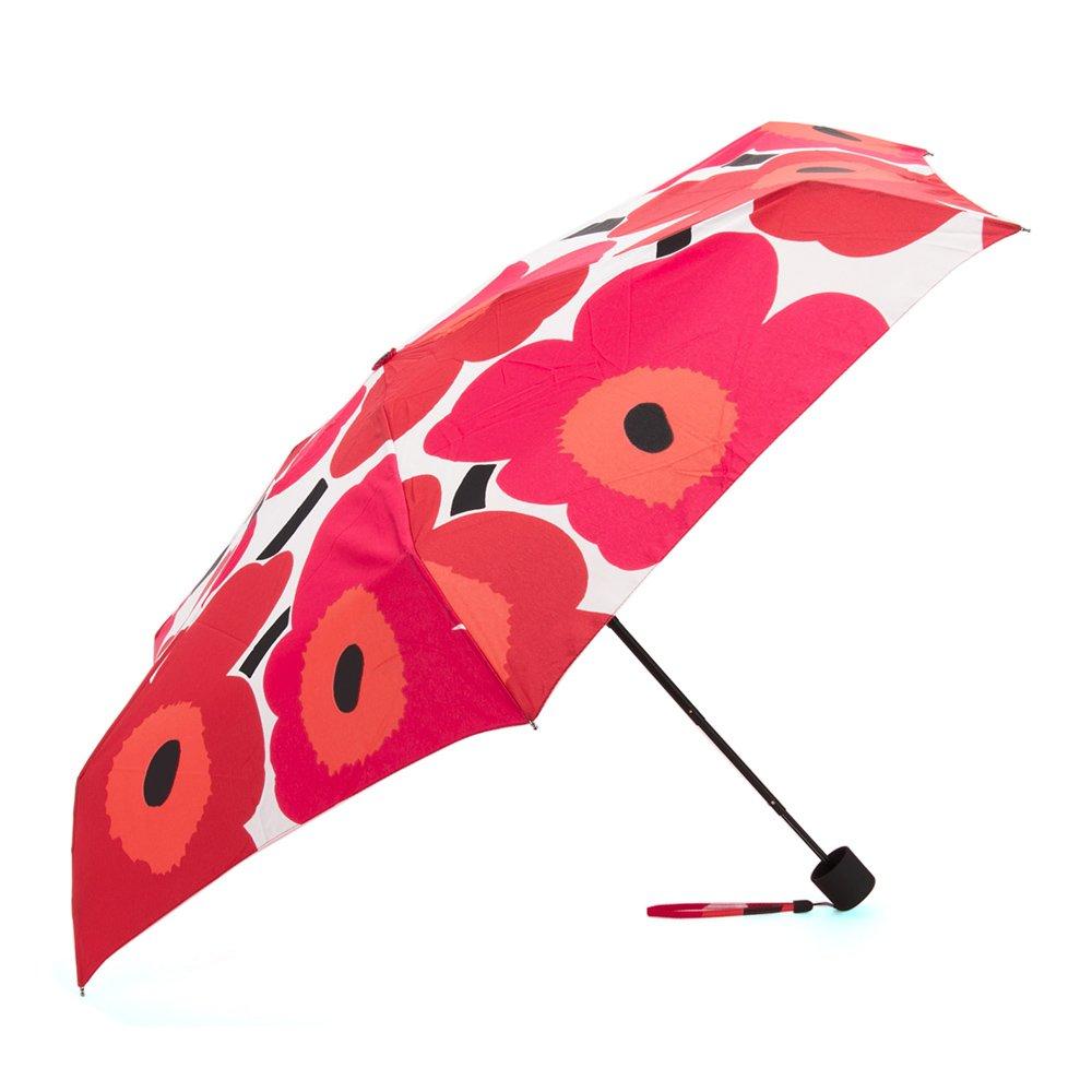 マリメッコ marimekko 雨傘 折りたたみ傘 かさ レディース ウニッコレッド 038654-001 [並行輸入品] B01539SDPG