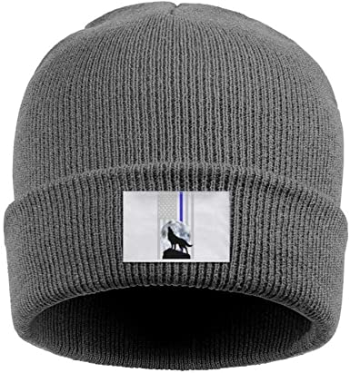Winter Beanie Hat Rainbow Bling Horse/  Knit Skull Cap for Men Women