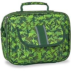 Bixbee Kids Dino Lunchbox, camouflage