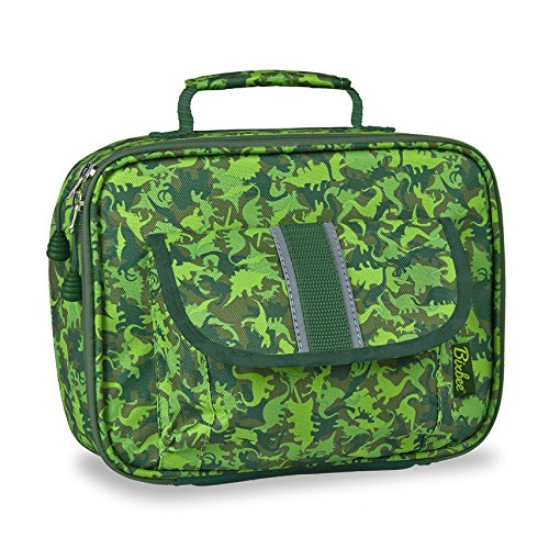 bixbee-kids-green-dino-camo-insulated-lunch-box