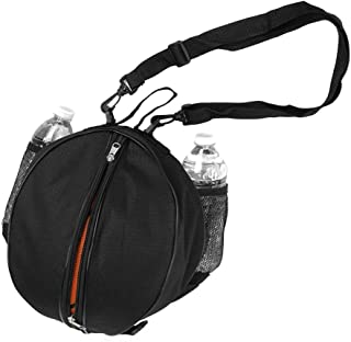 SNOWINSPRING Sac de Basket Ballon de Football Ballon de Volley-Ball Softball Sac de Sport Sac a bandouliere Sacs a bandouliere