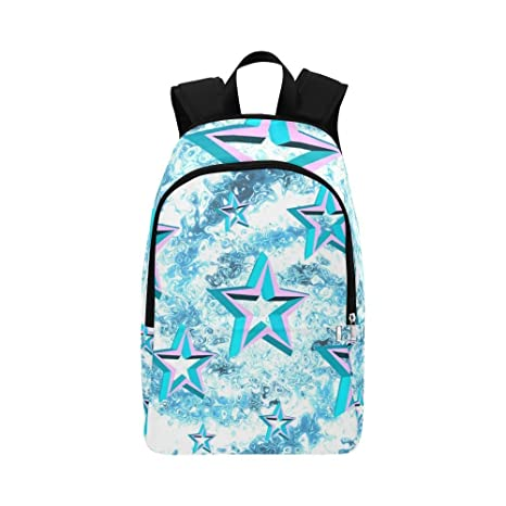 0249fdb6b341 Amazon.com  YUMOING Stars Star Shiny Graphics Design Casual Daypack Travel  Bag College School Backpack For Mens And Women  Sports   Outdoors