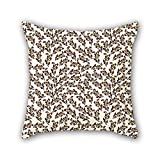 PILLO geometry pillow shams 18 x 18 inches / 45 by 45 cm best choice for adults,teens,car,indoor,coffee house,kids boys with both sides