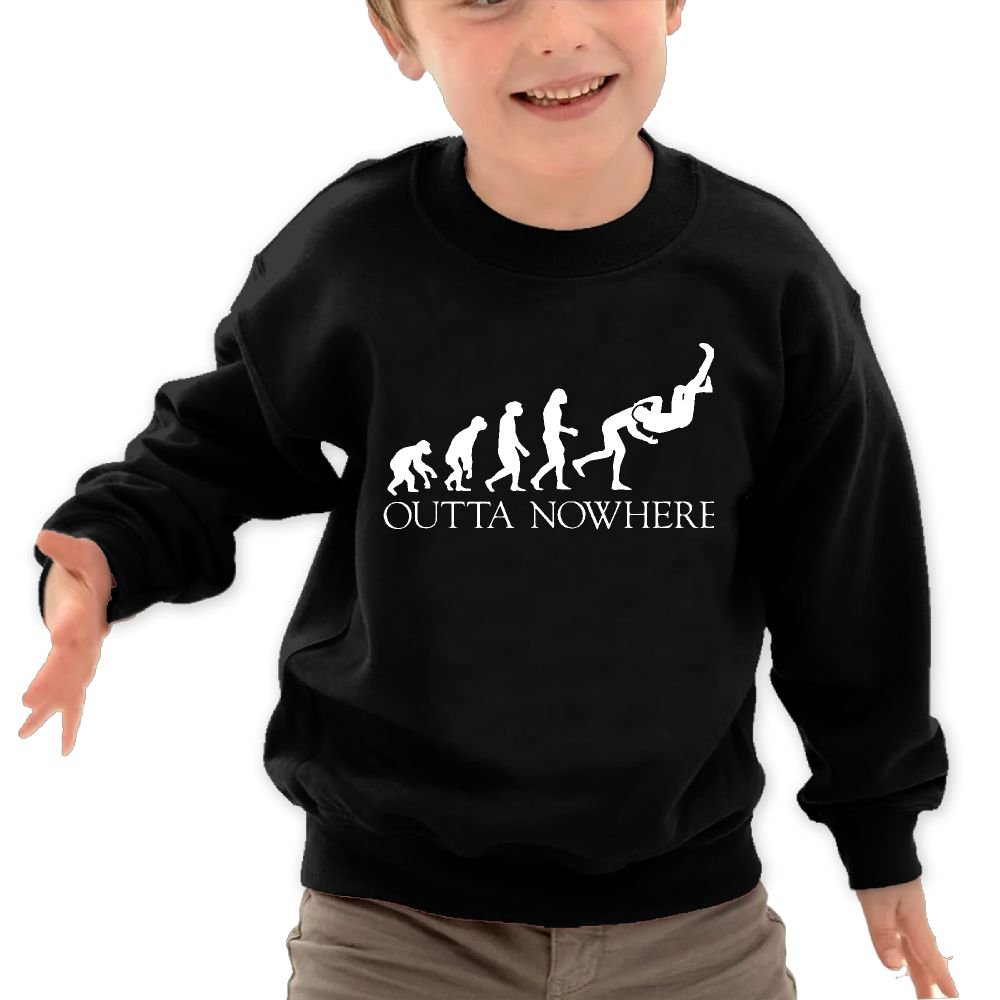 Wrestling Man APE 100% Toddler/Kids Long Sleeve Pullover Sweater Hoodie