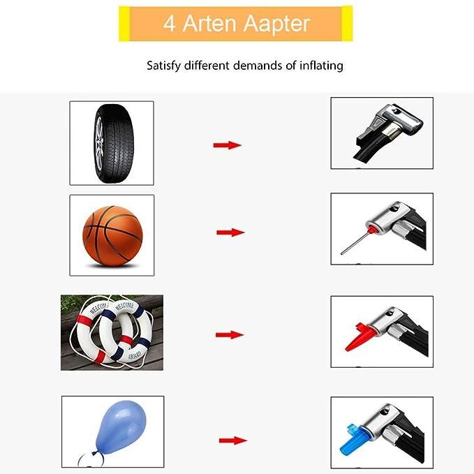 ZEEPIN Neumático Auto Portátil Compresor de Aire Encendedor de Cigarrillo para Coche de La Motocicleta Compresor de La Motocicleta Coche 12 V, ...